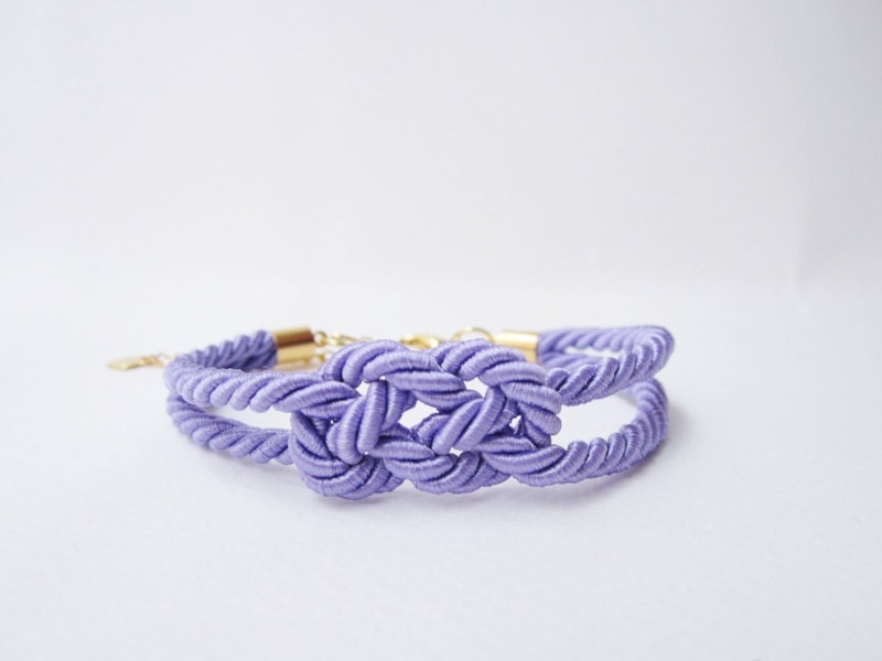 The Knot Wedding Gifts: Wedding Favorstie The Knot Bracelet Bridesmaid Gift