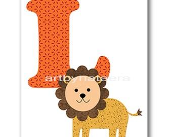 INSTANT Lion DOWNLOAD Print Baby Nursery Decor Nursery Digital Print Baby Boy Nursery Art Printable Art Digital Download Art 8x10 11X14