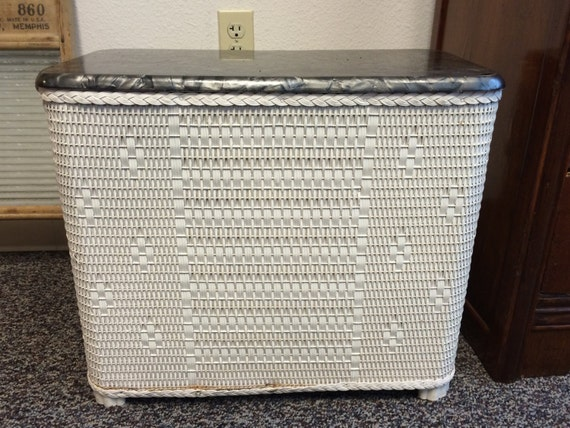 Vintage Hawkeye Hamper Laundry Hamper Laundry Basket