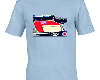 Lambretta Limited Edtion T Shirt, MOD Scooter Tee, Vespa, The Jam The Who for anybody