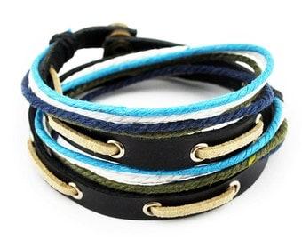 axy wrap bracelet TWIC11-8! Leather Bracelet