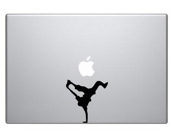 "Breakdancer Macbook Air Sticker Vinyl Decal Skin MacBook Pro 13"" 15"" 17"" Laptop Sticker Breakdance B-boying Sticker Teen Music Pop Hip Hop"