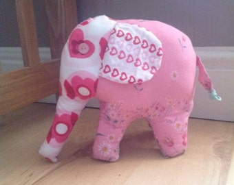 Keepsake Elephant made from your babies old clothes up cycle them into a precious memory
