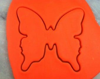 Butterfly Cookie Cutter Outline - SHARP EDGES - FAST Shipping - Choose Your Own Size!