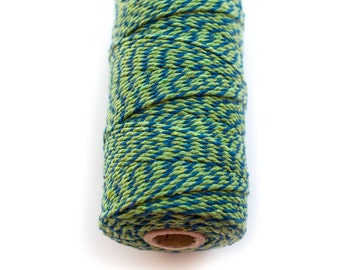 Blue and Green Twist Baker's Twine