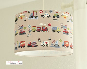 Lampshade car