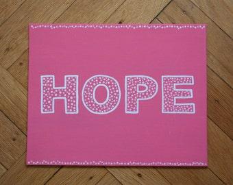 Hope Canvas
