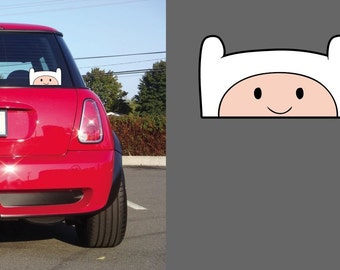 Fin the Human Jake the Dog Adventure Time JDM Custom Vinyl Decal Sticker