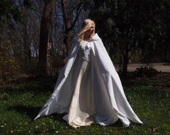 Velvet Cape, Cape of bride, Bridal Cape