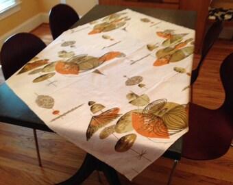 Midcentury Modern Tablecloth