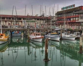 Frisherman's Grotto Fishing Boats, San Francisco Marina