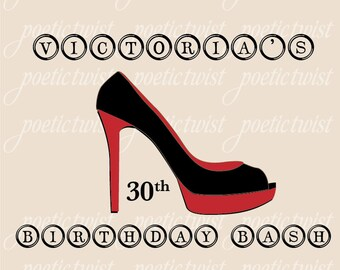 Graphic design shoes