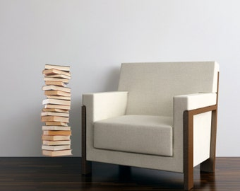 Stack of Books Vinyl Wall Decal