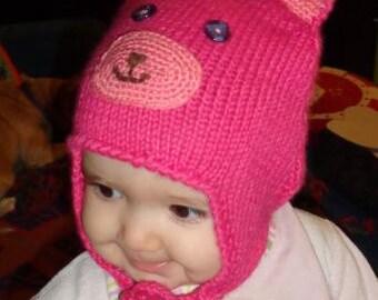 Tender Bear Baby Hat