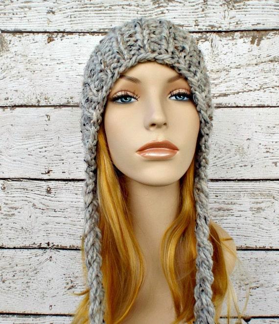 Instant Download Knitting Pattern Knit Ear Flap Hat by ...