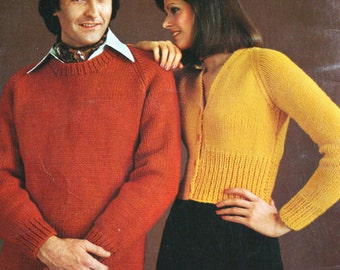 Knitting Patterns Crochet Craft Yarn for the Family Beehive Patons 145 Men Women Children Sweater Cardigan Poncho Paper Original NOT a PDF