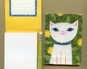 Fancy Cat Pencil Pad
