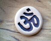 Ohm,  Pocket Message, Meditation Mantra, Message Rock, Yoga Gift, Om