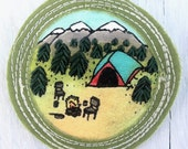 Merit Badge for 'being a happy camper'