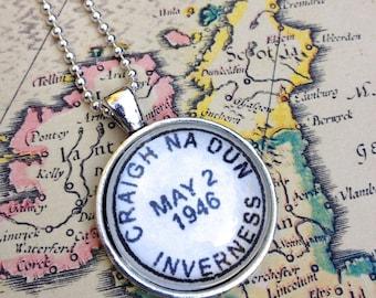 Outlander Jewelry - Gift for Her - Craigh na Dun - Claire Fraser - Outlander Necklace - Outlander Series - Outlander Book - Sassenach