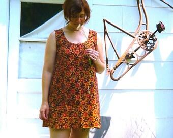 sleeveless Hapi dress -- summer sundress -- made to order