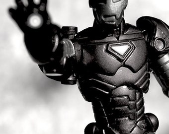 I AM IRON MAN (B&W) - Photograph - Various Sizes