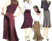 A line Skirt pattern Classic Style with a retro look sewing pattern Butterick 4859 Sz 14 to 20 UNCUT