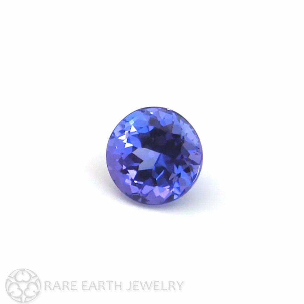 Tanzanite Gemstone Round Faceted Loose Stone Natural Gemstone