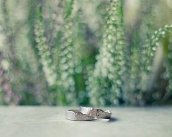 Silver Mountain Ring - Esja Ring for Women & Men -  Wedding / Engagement