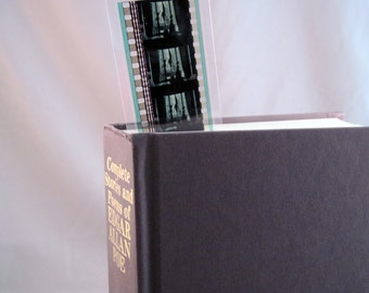 Corpse Bride Bookmark - Recycled 35mm Film