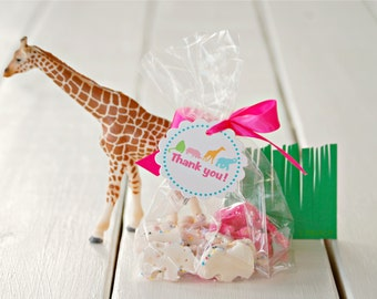 The Vintage Safari Collection - Fantastic Favor Tags with Bags from Mary Had a Little Party
