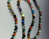 """30"""" Multi-Stone Necklace-81 Different Gemstones.....My """"Whammy 81"""" Necklace"""