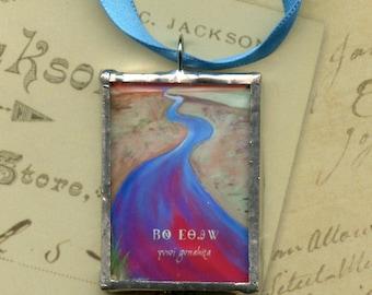 Ornament - Cherokee Language Series -  Yvwi Gvnahita = Long Man (Spirit of the River)