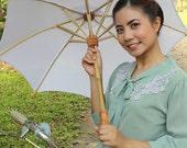 Very white parasol size M