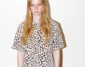 Neutral Animal Print Shirt Size S-M