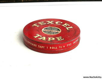 Vintage Tool Tin, Perfect as a Gift Giving Box or Container