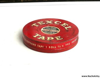 Vintage Tool Tin | Perfect as a Gift Giving Box or Container