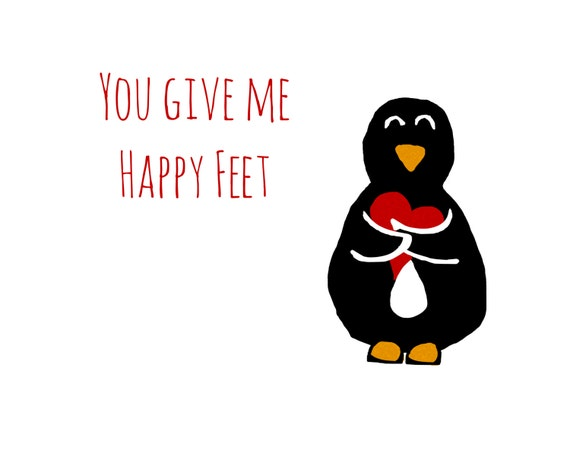 Schön Does Your Other Half Make You Sing And Dance With Joy Then My U0027Happy Feetu0027  Card Is Perfect For You!