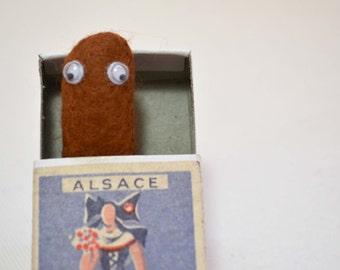 Poo Brooch in a box handmade comedy poo accessory