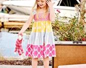 Girls Summer Dress - Sundress - Easter Dress