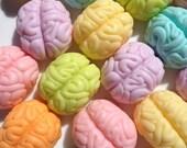 Brain Candy Halloween soap - mini brain-wash soap - Halloween decor - classroom party favors