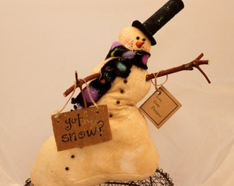 Snowman, GOT SNOW Snow man