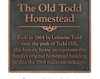 "Rectangle Historical Plaque 16"" W x 17"" H by Atlas Signs and Plaques"