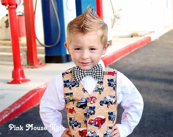 Adorable Little Mans Vest, Boys Vest, Baby Boys Vest, Little Boys Vest, Toddler Vest, Kids Vest, Wedding, Sizes 6 months to 8 years