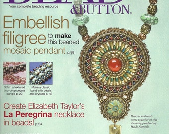 Bead & Button Magazine February 2013 Issue