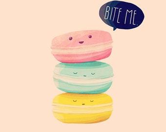Bite Me - Illustration Print