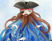 Pirate Illustration - Art...