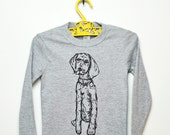 Puppy Toddler Tee- Long Sleeve