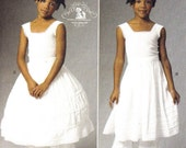 Childrens Steampunk Pattern Girls Bloomers Underskirt/Petticoat and Hoop Skirt Victorian Underwear Costume Sz 6 7 8 Butterick 5901