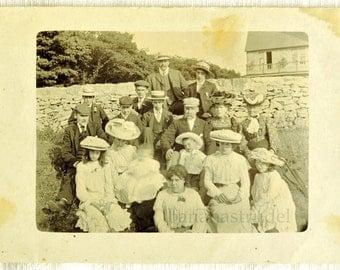 Circa 1905 Rare English Outdoor Photograph